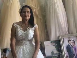 Hé lộ sự thật về hình ảnh cụ bà 70 tuổi đi thử váy cưới ở Nghệ An