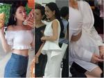 Lan Khuê 2 ngày trước khi làm cô dâu: Lộ diện những mẫu váy cưới siêu gợi cảm chỉ Hoa khôi mới dám mặc-15