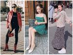 Khác hẳn vẻ quê mùa trên phim, Phương Oanh Quỳnh Búp Bê khoe style cá tính chất lừ ở Hàn Quốc-10