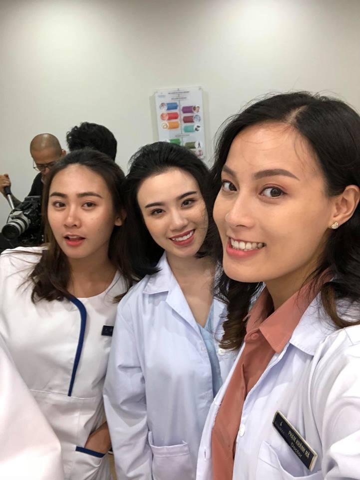 Linh Miu nói gì về cảnh giật tóc Khả Ngân trong Hậu duệ mặt trời bản Việt?-5