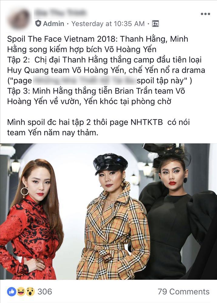 Khổ thân thành viên của team Võ Hoàng Yến, chưa bị loại khỏi The Face đã bị HLV truất quyền được chụp ảnh?-11