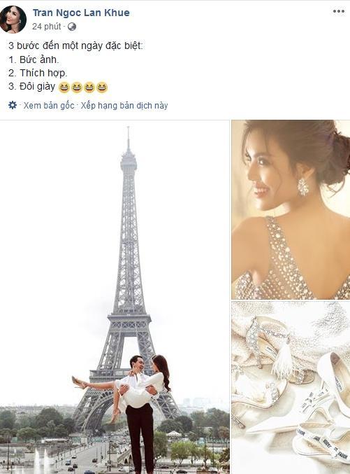 Trước đám cưới 1 ngày, Lan Khuê bật mí 3 bước quan trọng để đón giờ G-1