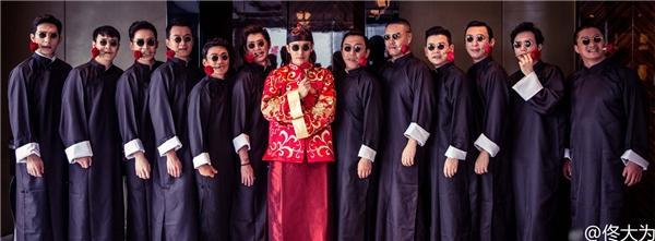 Dàn mỹ nam Hoa ngữ làm phù rể: Người make-up đẹp trai ngời ngời, người mặc váy sẵn sàng quẩy banh nóc-9