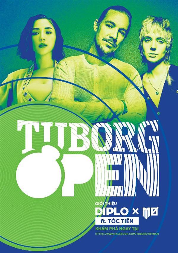 Diplo &MØ kết hợp cùng Tóc Tiên trong Tuborg Open 2018-1