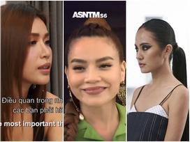 Hồ Ngọc Hà xuất hiện cũng là lúc Rima Thanh Vy và Minh Tú rời khỏi Asia's Next Top Model