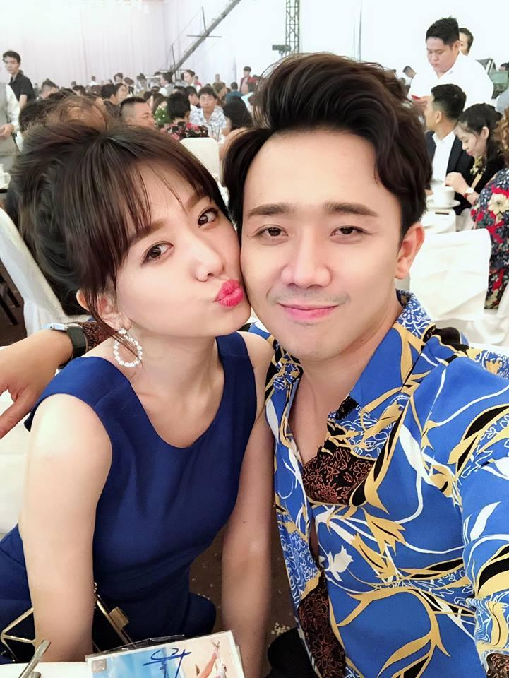 Trấn Thành uất nói không nên lời khi chứng kiến Hari Won bị đổ nước trong lúc đang dự tiệc-1