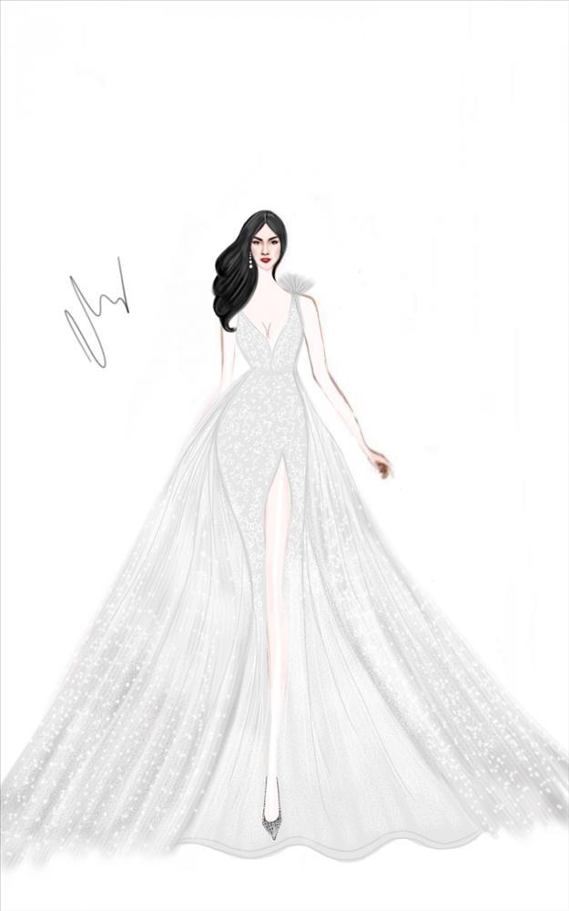 Không chỉ đầu tư váy cưới, Lan Khuê còn chi gần 100 triệu cho 3 đôi giầy cưới đẹp như cổ tích-4