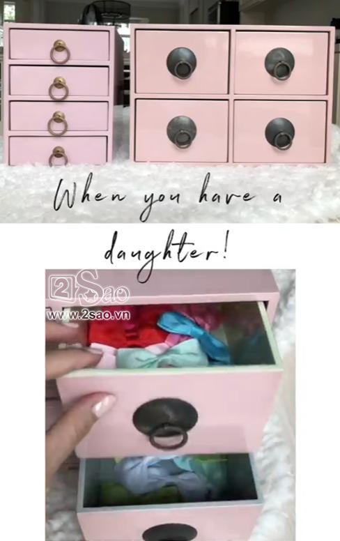 Tiểu công chúa vừa tròn 1 tuổi, Tăng Thanh Hà làm điệu cho con bằng tủ phụ kiện nhiều không đếm xuể-8