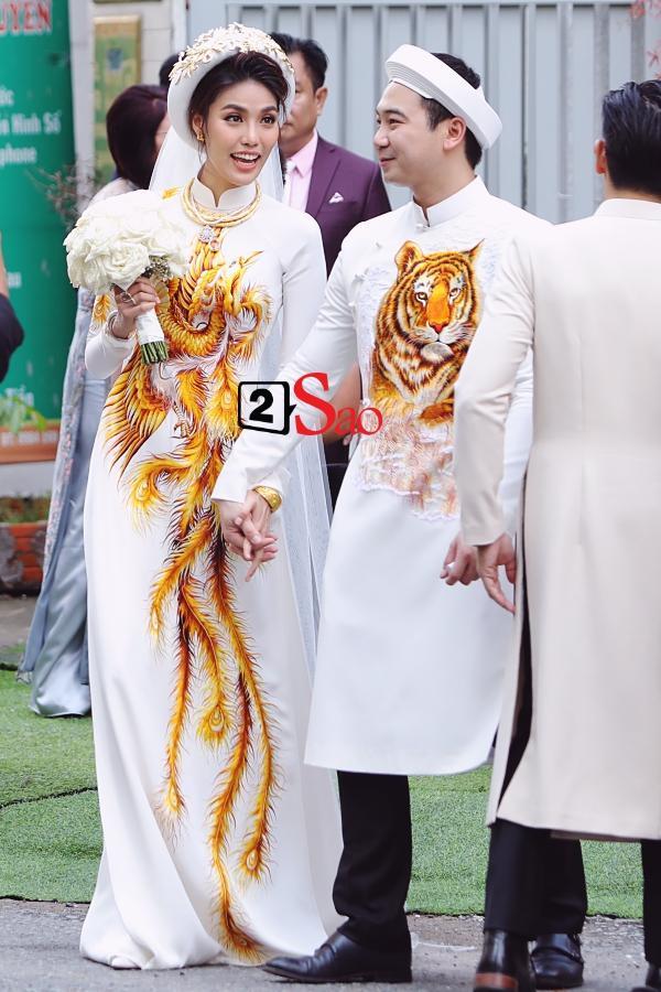 Đám cưới Lan Khuê và điểm đặc biệt chưa từng xuất hiện trong bất kỳ đám cưới nào dù là sao hạng A-1