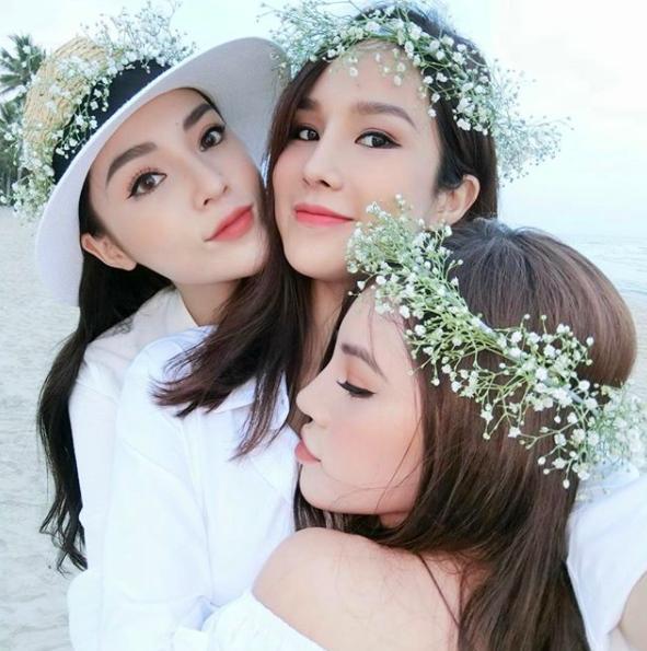Jolie Nguyễn phát ngôn bất nhất về thông tin chị chị em em cũng tan đàn với Hoa hậu Kỳ Duyên-2