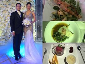 Thực đơn đám cưới xa hoa của Lan Khuê khiến khách mời xuýt xoa với đủ sơn hào hải vị