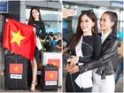 Hoa hậu Tiểu Vy tiễn Á hậu Phương Nga lên đường chinh chiến Miss Grand International 2018