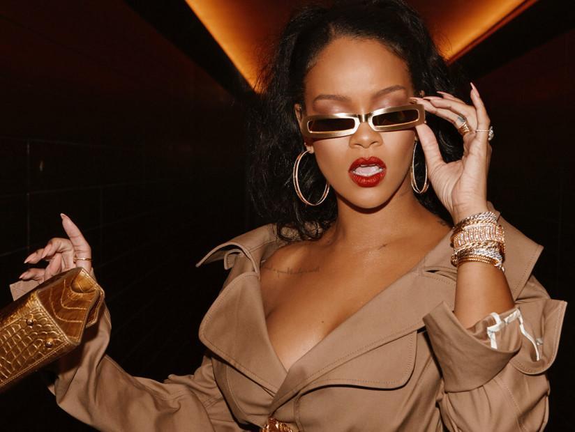 Cách phối đồ lạ mắt chỉ có ở Rihanna-5