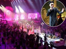 Choáng ngợp với đám cưới 10 tỷ ở Đà Nẵng: Chú rể lái siêu xe lên sân khấu, mời cả ca sĩ hạng A đến góp vui