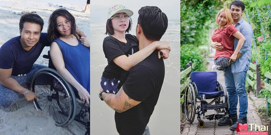 Tình yêu vượt qua định kiến, cô gái không chân và chồng soái ca lấy nước mắt triệu người nhờ cuộc hôn nhân khác lạ-1