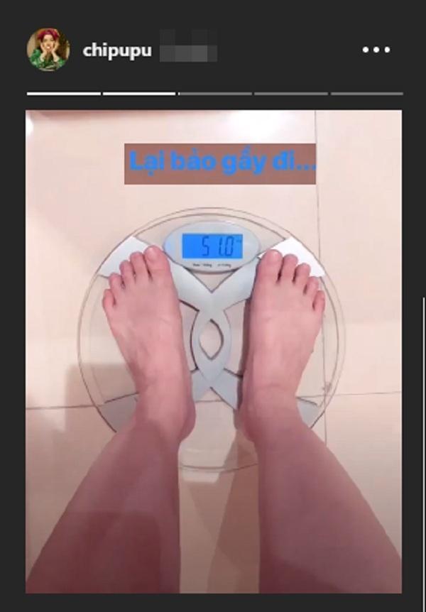 Lại bảo gầy đi, Chi Pu còn đang có nguy cơ thừa cân đây này! Nghe tiết lộ số cân mà ớ người-3