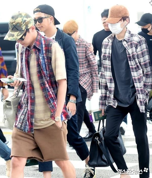 BTS, Joy và loạt sao Hàn gợi ý phong cách thời trang sân bay ấn tượng cho mùa thu-2