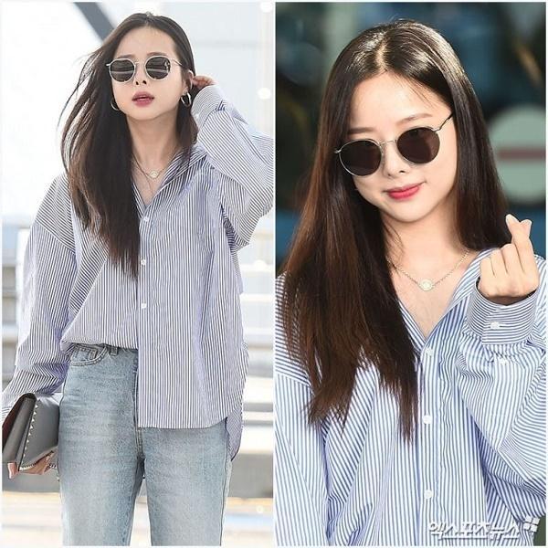 BTS, Joy và loạt sao Hàn gợi ý phong cách thời trang sân bay ấn tượng cho mùa thu-5