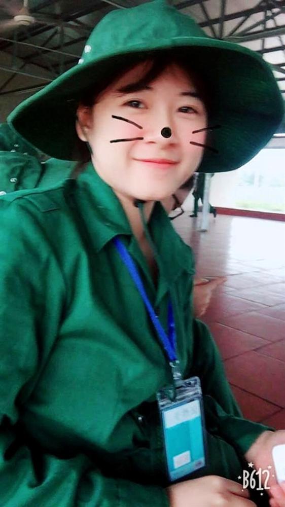 Nữ bảo vệ xinh đẹp ở Nghệ An sợ hãi khi bị đăng ảnh lên mạng-3