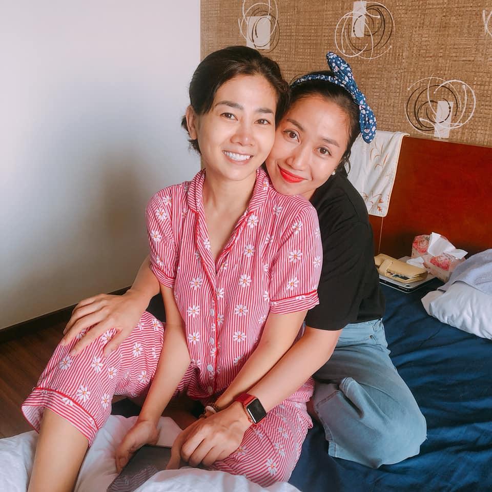 Hình ảnh mới nhất của Mai Phương được Ốc Thanh Vân đăng tải.