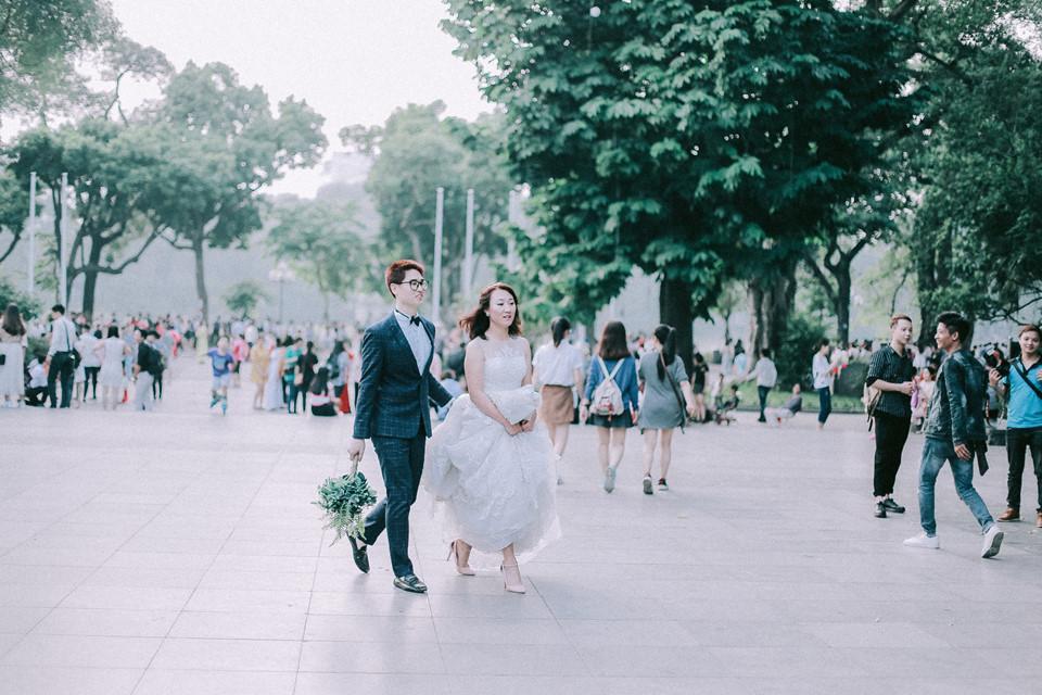 Khoảnh khắc yên bình trong tiết thu Hà Nội ngày cuối tuần-4