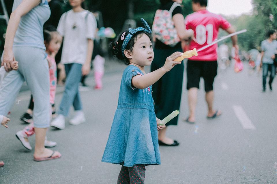 Khoảnh khắc yên bình trong tiết thu Hà Nội ngày cuối tuần-5