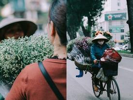 Khoảnh khắc yên bình trong tiết thu Hà Nội ngày cuối tuần