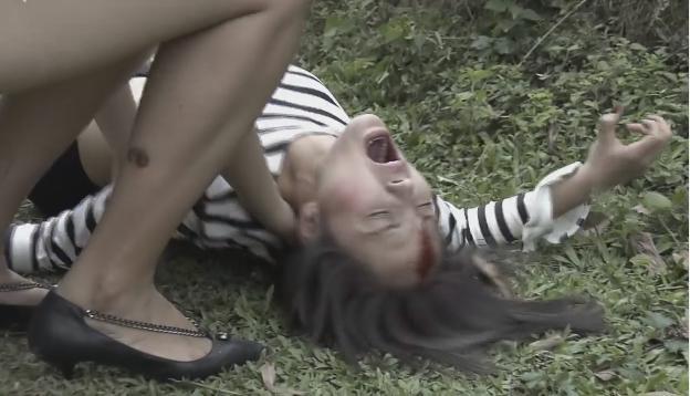 Cảnh và con trai Quỳnh Búp Bê bị tàu hỏa đâm chết, hung thủ là My Sói-2