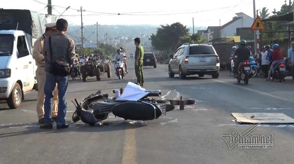 Truy tìm ô tô tông chết trung úy quân đội rồi bỏ trốn-1