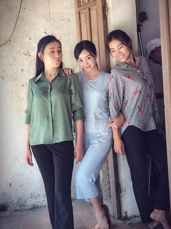 Em gái nóng bỏng của Lan cave bị ăn tát 15 lần trên phim trường-4