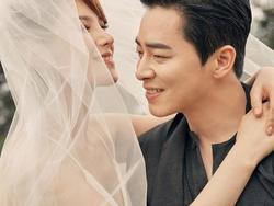 Showbiz Hàn rộn ràng chúc phúc Jo Jung Suk và ca sĩ 'Hậu duệ mặt trời' Gummy về chung một nhà