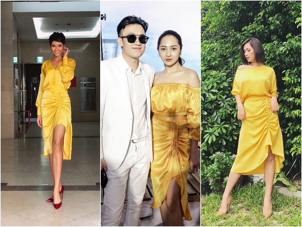 HHen Niê - Bảo Anh - Ái Phương mặc chung mẫu váy nhưng vẻ đẹp 3 người lại chẳng ai chịu thua kém ai