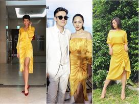 H'Hen Niê - Bảo Anh - Ái Phương mặc chung mẫu váy nhưng vẻ đẹp 3 người lại chẳng ai chịu thua kém ai