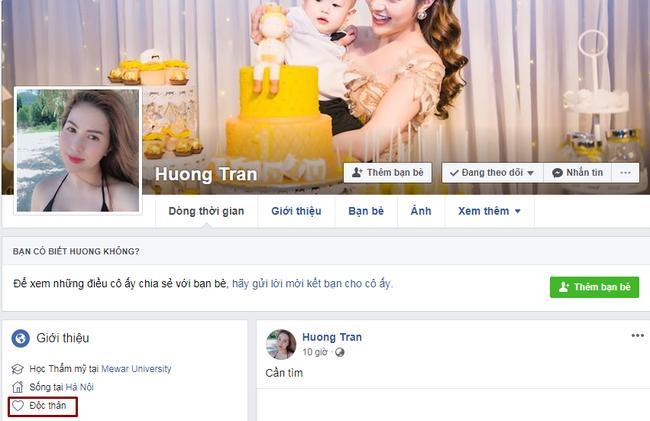 Bỗng nhiên cùng để chế độ độc thân trên Facebook, vợ chồng diễn viên Việt Anh bị nghi rạn nứt-2
