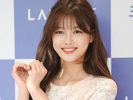 Trở lại sau thời gian dài trị bệnh, Kim Yoo Jung ngày càng xinh đẹp, rạng rỡ