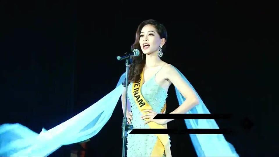 Không chỉ giới thiệu đầy khí chất, Bùi Phương Nga còn tung váy xuất thần tại Miss Grand International 2018-4