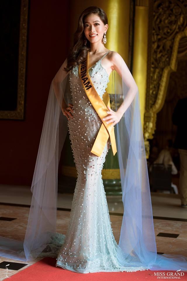 Không chỉ giới thiệu đầy khí chất, Bùi Phương Nga còn tung váy xuất thần tại Miss Grand International 2018-6
