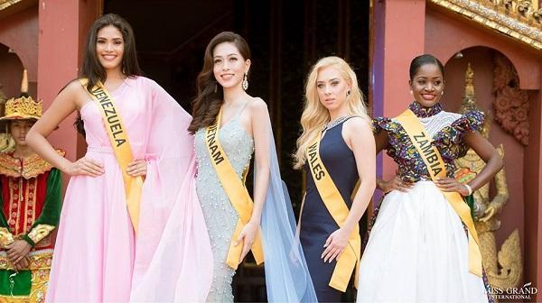 Không chỉ giới thiệu đầy khí chất, Bùi Phương Nga còn tung váy xuất thần tại Miss Grand International 2018-1