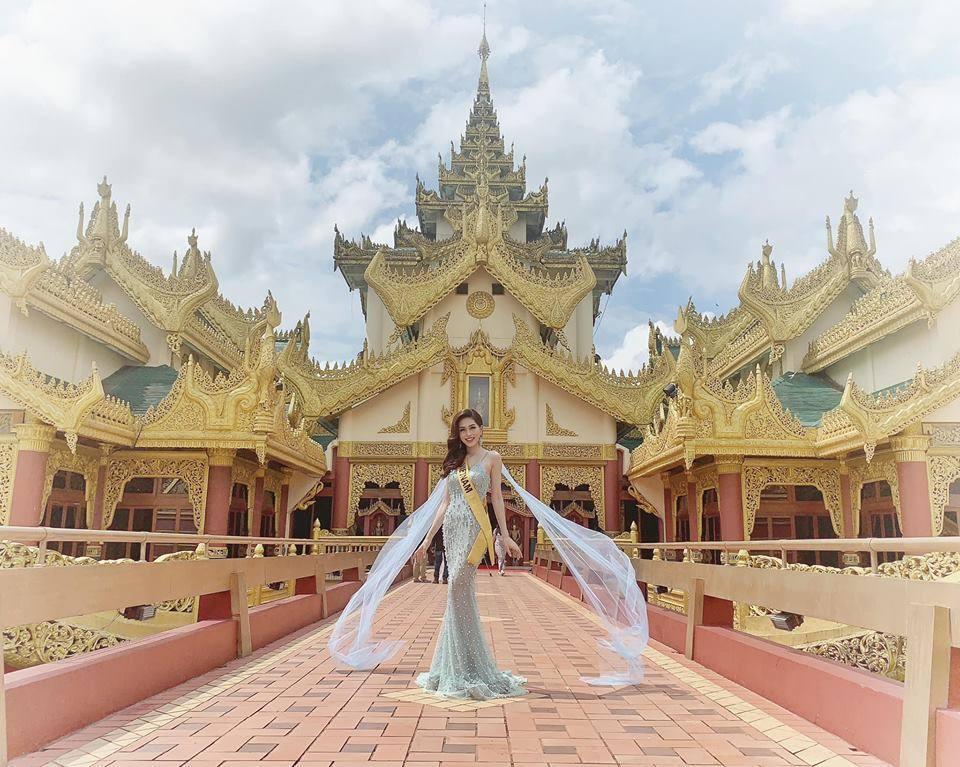 Không chỉ giới thiệu đầy khí chất, Bùi Phương Nga còn tung váy xuất thần tại Miss Grand International 2018-7
