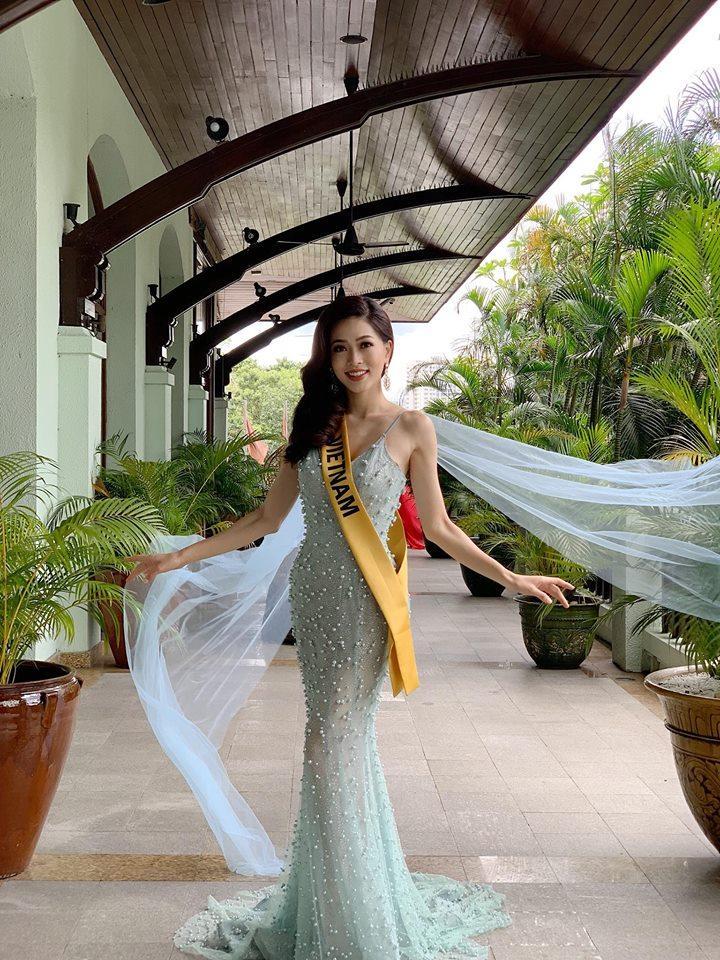 Không chỉ giới thiệu đầy khí chất, Bùi Phương Nga còn tung váy xuất thần tại Miss Grand International 2018-8