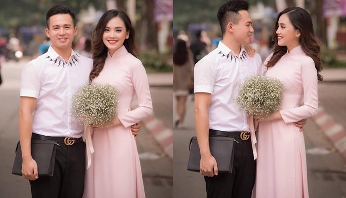 Top 10 Hoa hậu Việt Nam Trần Tố Như rạng rỡ bên ông xã hot boy ngày ra trường-1