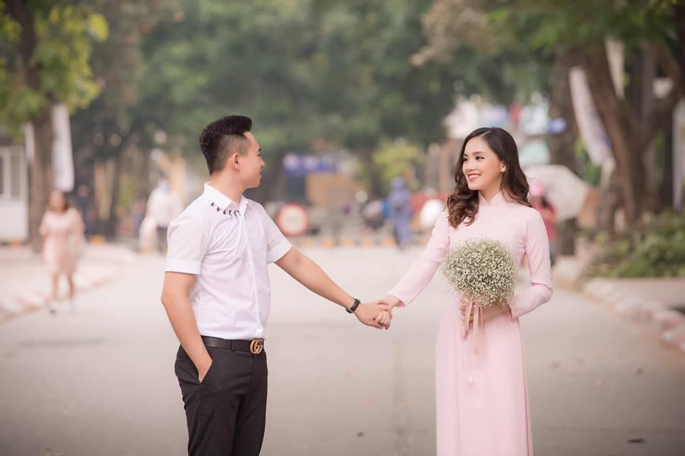 Top 10 Hoa hậu Việt Nam Trần Tố Như rạng rỡ bên ông xã hot boy ngày ra trường-2