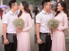 Top 10 'Hoa hậu Việt Nam' Trần Tố Như rạng rỡ bên ông xã hot boy ngày ra trường