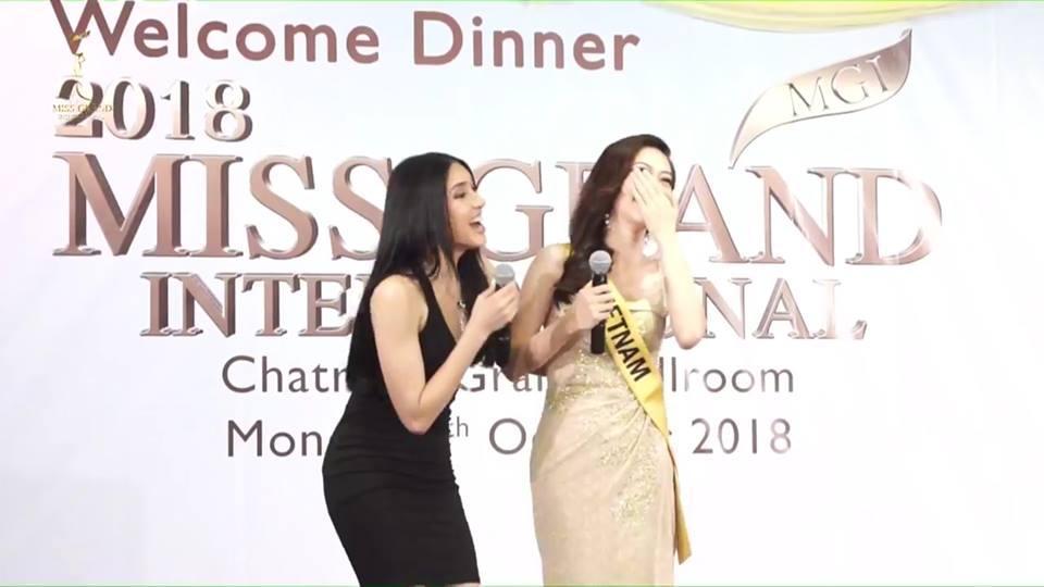 Giỏi nhảy nhưng lại bị bắt hát, Bùi Phương Nga vẫn tự tin cầm mic bất chấp nốt cao chênh vênh tại Miss Grand 2018-1
