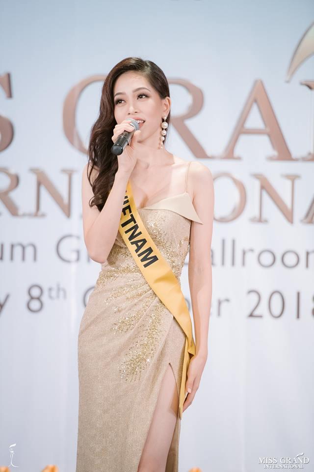 Giỏi nhảy nhưng lại bị bắt hát, Bùi Phương Nga vẫn tự tin cầm mic bất chấp nốt cao chênh vênh tại Miss Grand 2018-2