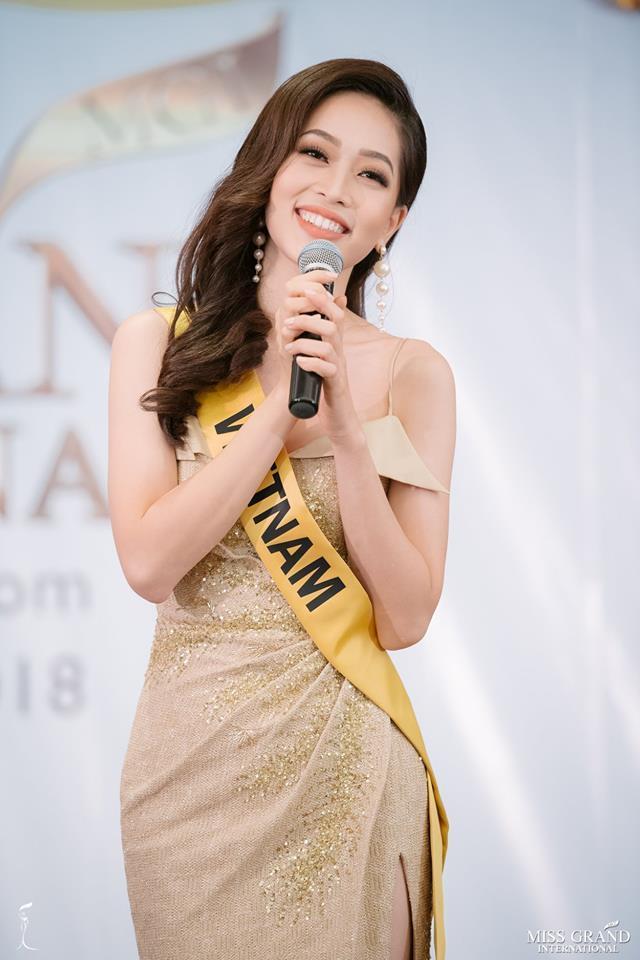 Giỏi nhảy nhưng lại bị bắt hát, Bùi Phương Nga vẫn tự tin cầm mic bất chấp nốt cao chênh vênh tại Miss Grand 2018-4