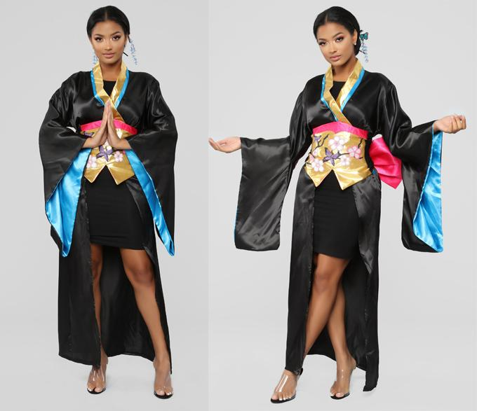 Trang phục Halloween hình tượng geisha bị phản đối-1
