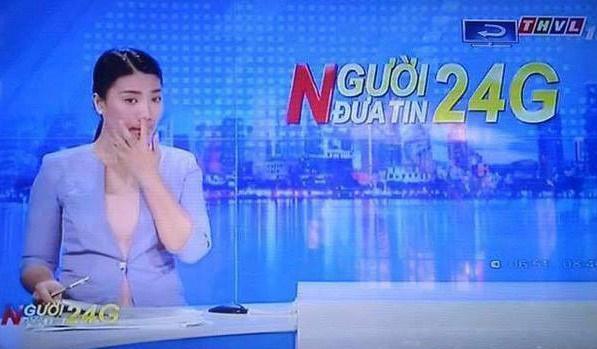 Hết ngoáy mũi lại văng tục khi lên sóng trực tiếp, MC truyền hình bây giờ bá đạo quá rồi-4