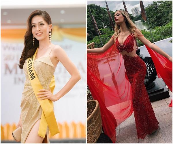 Sự thật có phải Á hậu Bùi Phương Nga bị bạn cùng phòng chơi xấu tại Miss Grand International 2018?-8