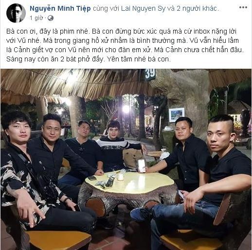 Đạo diễn Quỳnh Búp Bê bị dọa đốt nhà vì để Cảnh chết, Minh Tiệp trấn an: Yên tâm, vẫn còn xuất hiện-3